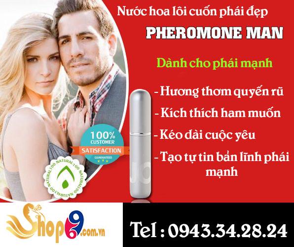 Nước hoa kích dục nữ giá rẻ Pheromone Man cuốc hút phái đẹp