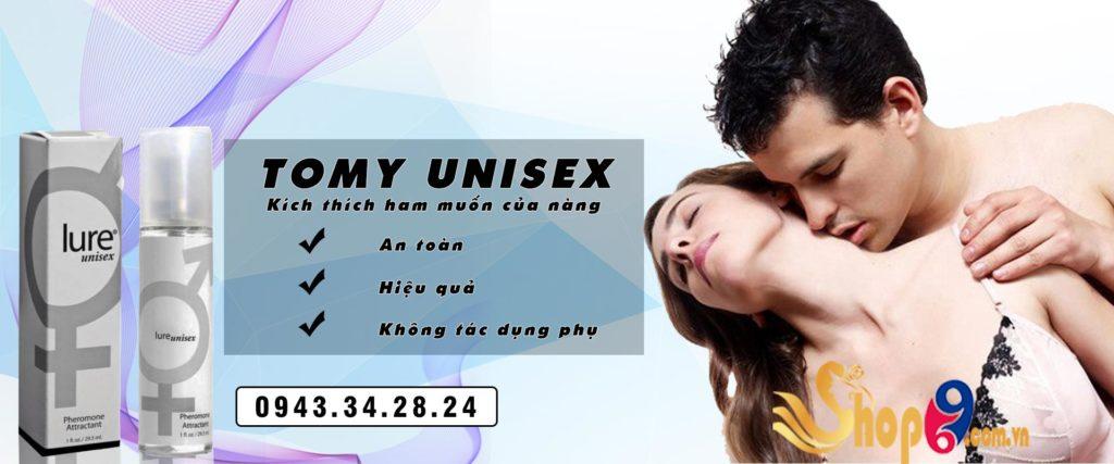 nước hoa kích dục Tomy Unisex
