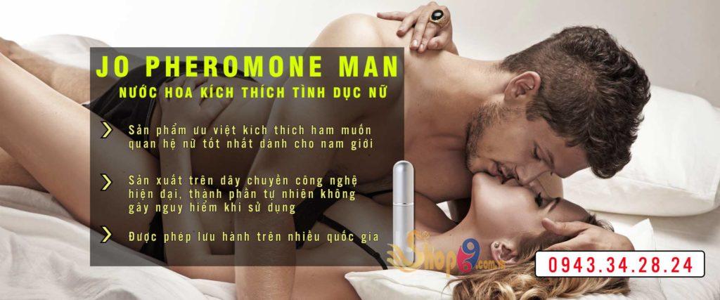 nước hoa kích dục JO PHEROMONE MAN