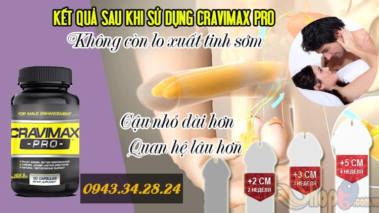 cravimax rx thuốc chống xuất tinh sớm