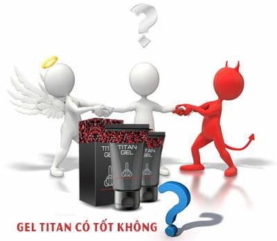 Đánh giá gel titan có tốt không ? Mua ở đâu giá rẻ ?