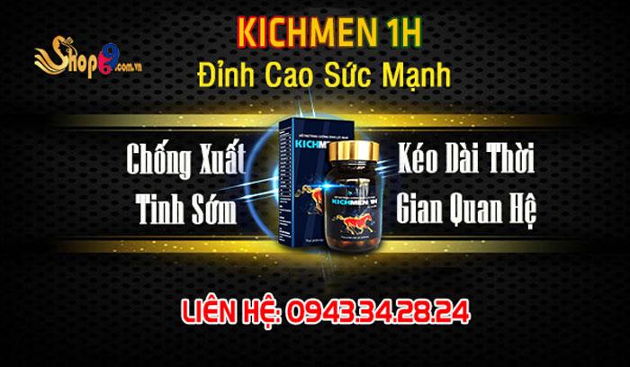 tác dụng kichmen 1h