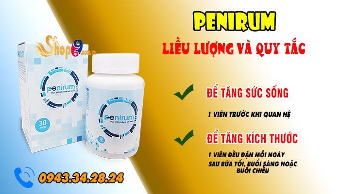 penirum có tác dụng phụ không