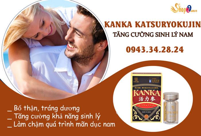 cách sử dụng kanka katsuryokujin đạt được hiệu quả tốt nhất