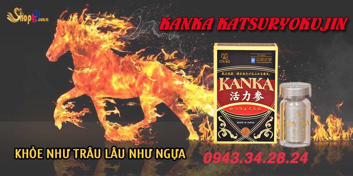 sử dụng bổ thận kanka katsuryokujin có ảnh hưởng gì không