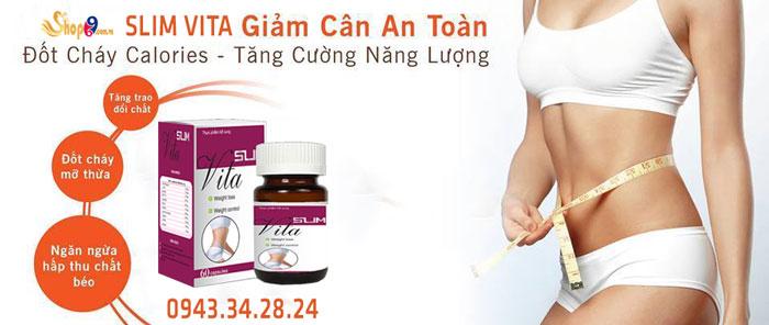 giảm cân slim vita có tác dụng phụ