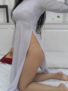 áo dài mỏng dính