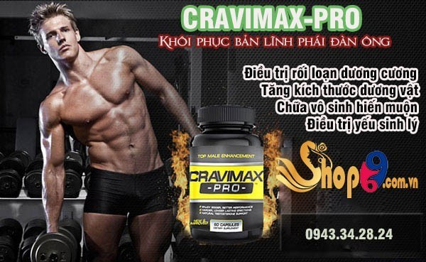 so sánh cravimax pro với strongmen 1H