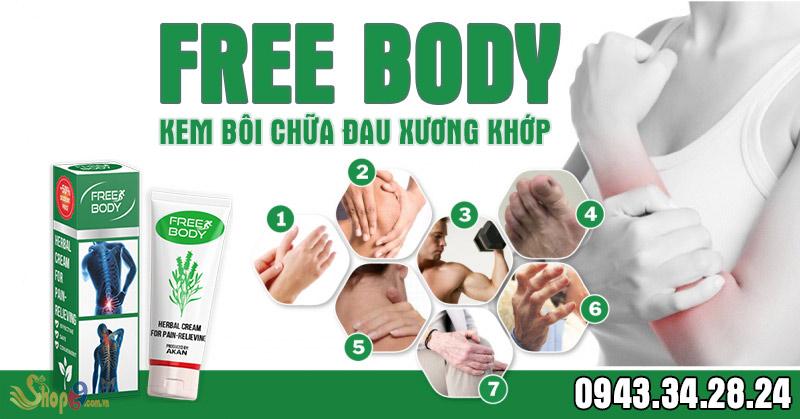 đối tượng sử dụng Free body