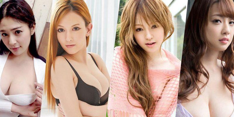 Top 10 Nữ diễn viên JAV chinh phục mọi đàn ông Nhật Bản