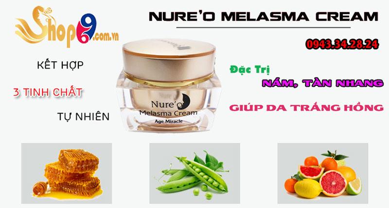 thành phần nure'o melasma