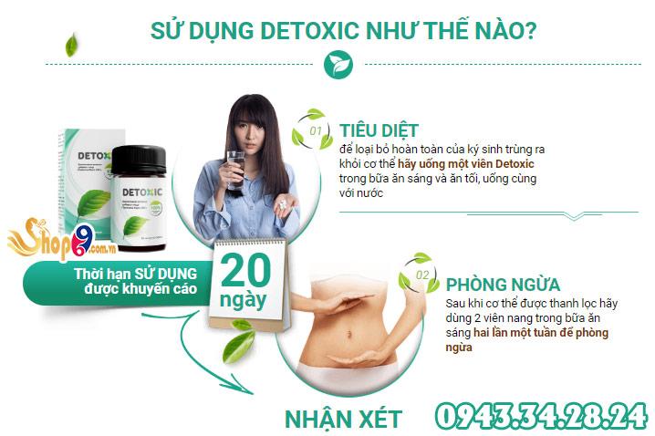 cách sử dụng Detoxic
