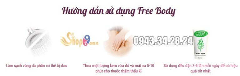 cách sử dụng free body