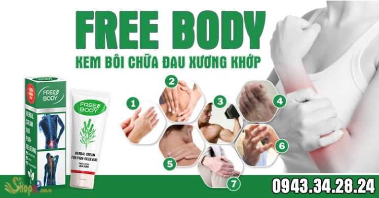 free body giá bao nhiêu