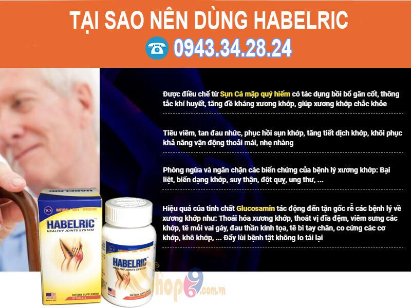 habelric, habelric có tốt không, giá bán
