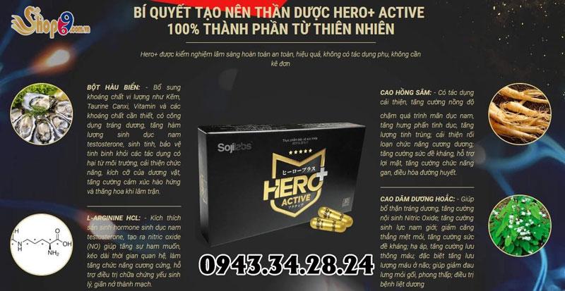 thành phầm Hero plus active