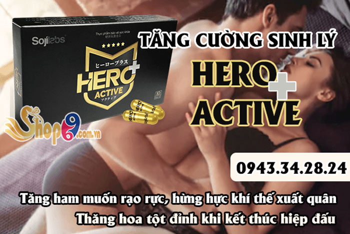 công dụng hero plus active