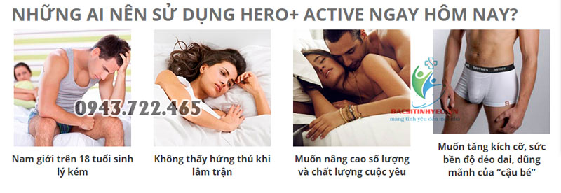 hero plus active