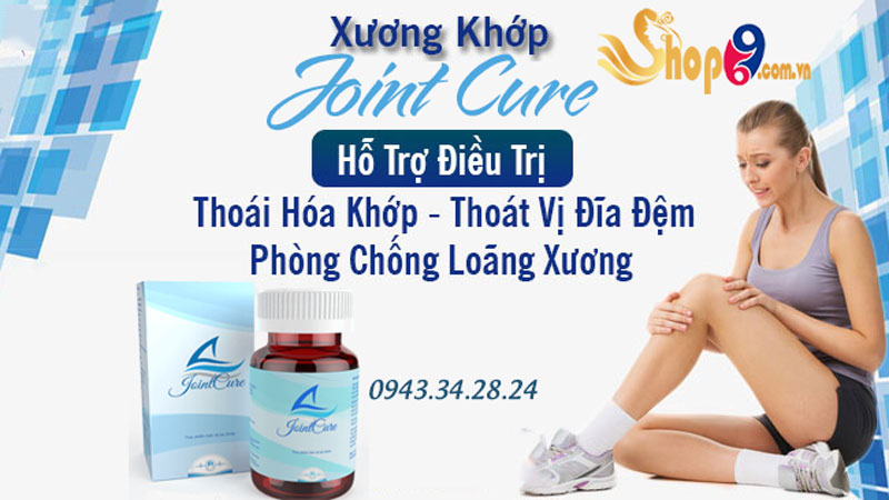 joint cure hỗ trợ điều trị thoái hóa khớp