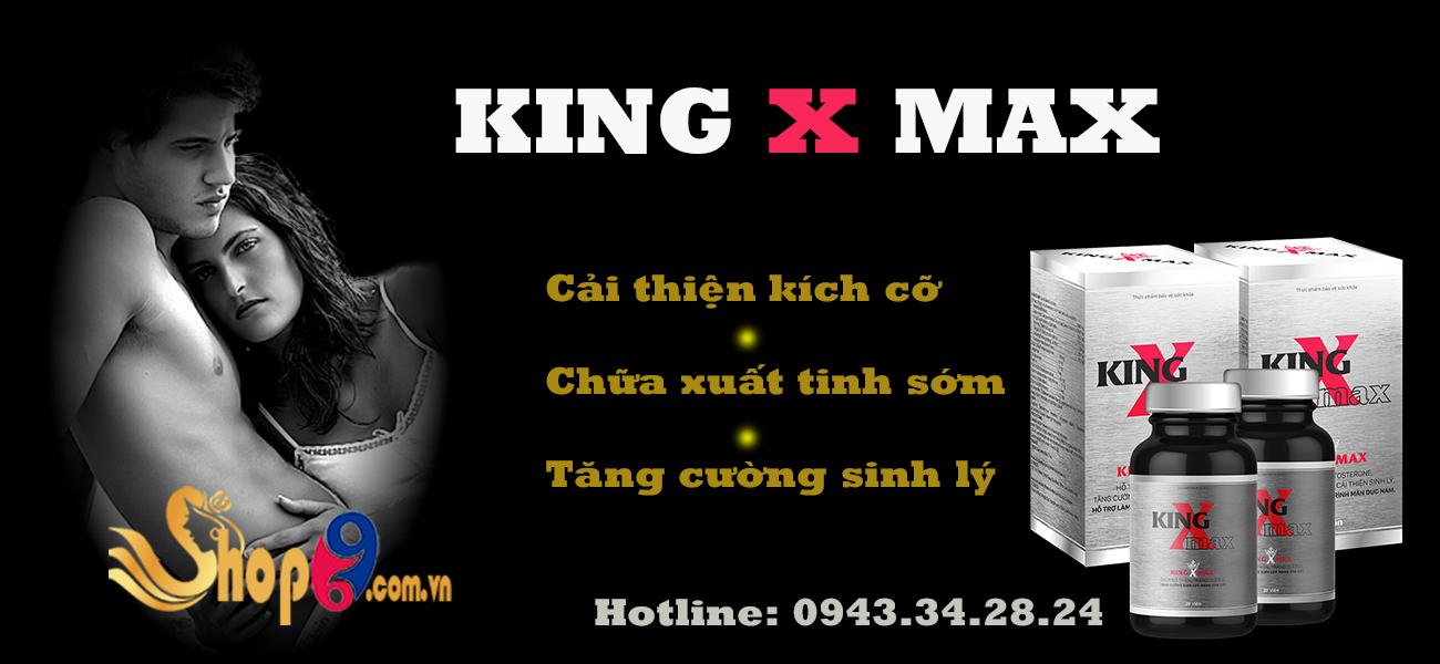 giới thiệu sản phẩm king x max