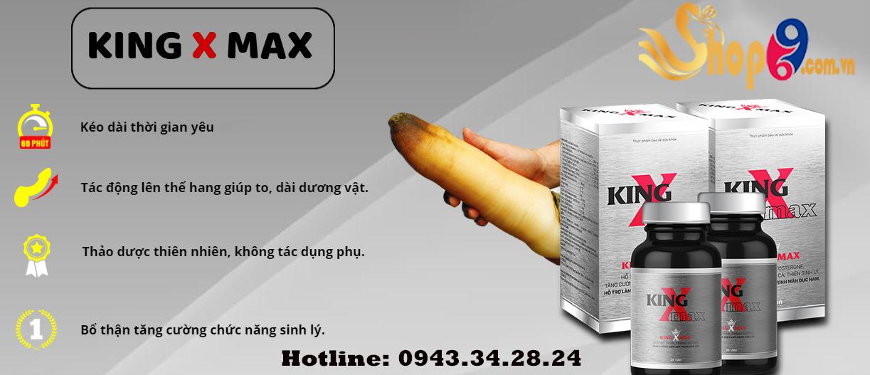 Công dụng của King X Max mang lại