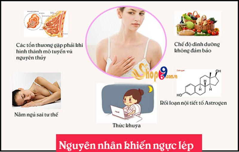 Nguyên nhân khiến ngực nhỏ