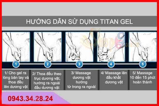 cách dùng maral gel, cách sử dụng maral gel