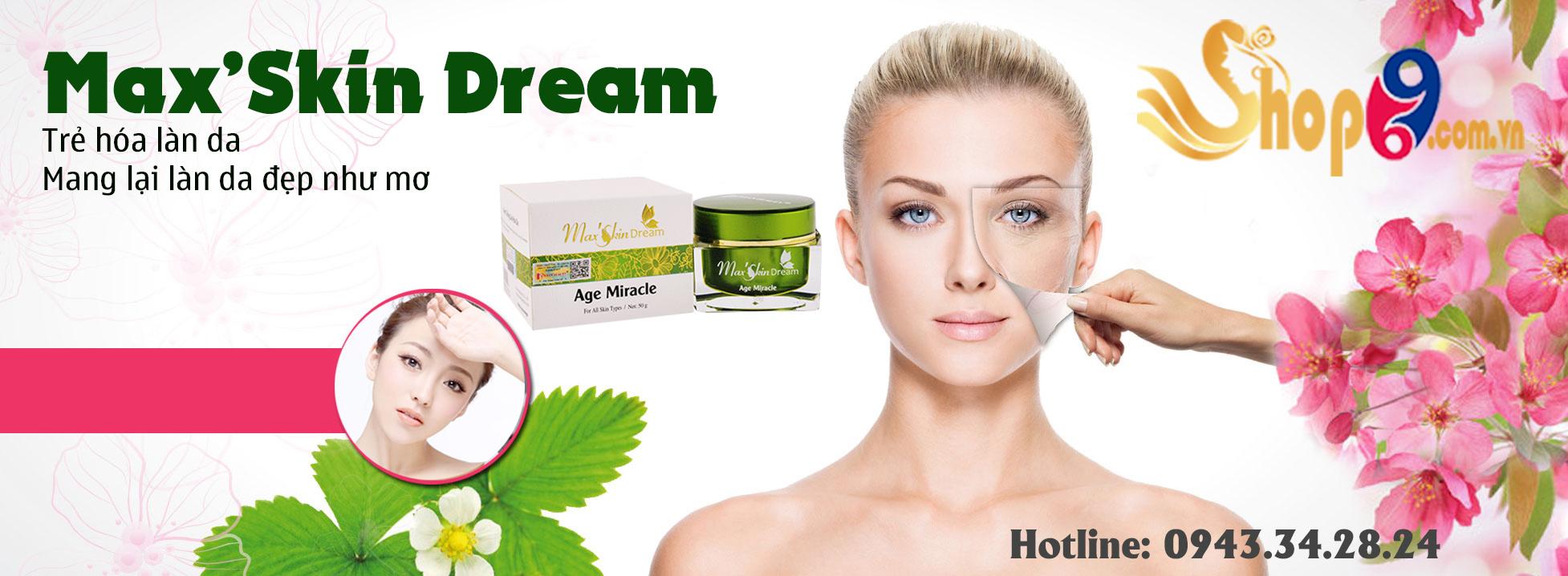 sản phẩm max'skin dream