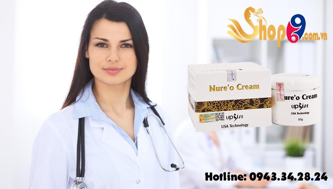 chuyên gia đánh giá về sản phẩm nure'o cream upsize