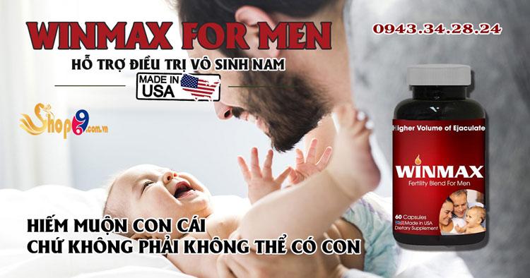 đối tượng sử dụng winmax for men