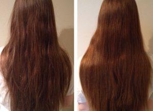khách hàng sử dụng xịt tóc mao bạt khang