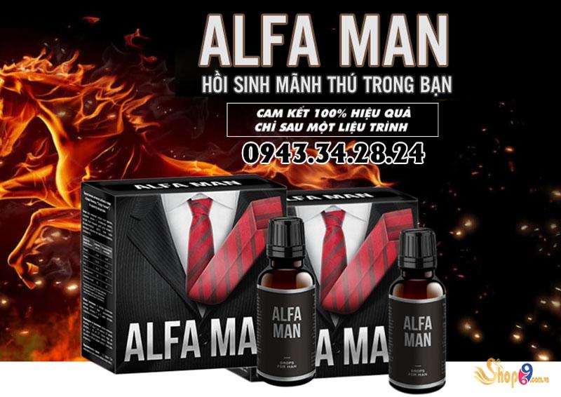 công dụng alfa man