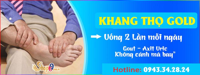 cách dùng Khang Thọ Gold