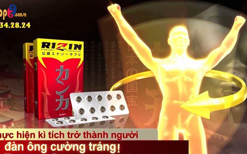Review bổ thận Rizin Nhật Bản là gì, giá bao nhiêu, bán ở đâu?