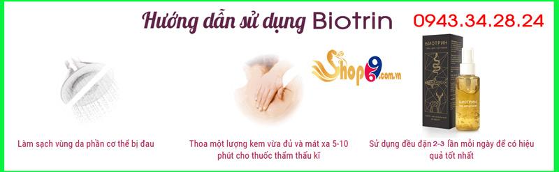 cách sử dụng biotrin