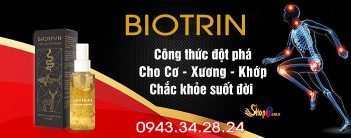công dụng biotrin