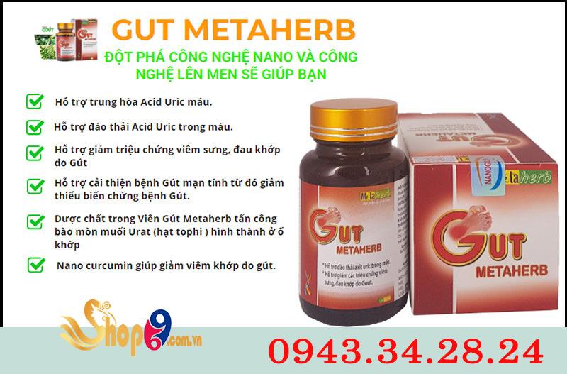 công dụng gut metaherb