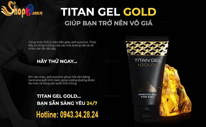 ưu điểm titan gel gold