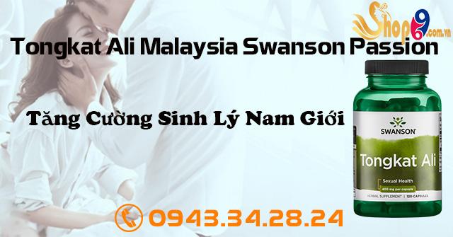 Tongkat Ali Malaysia Swanson Passion giới thiệu