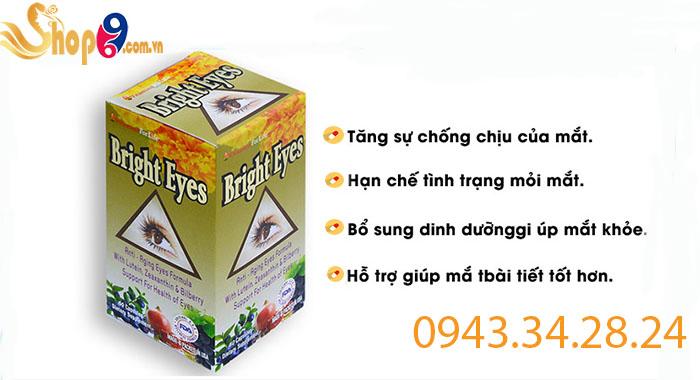 công dụng của bright eyes