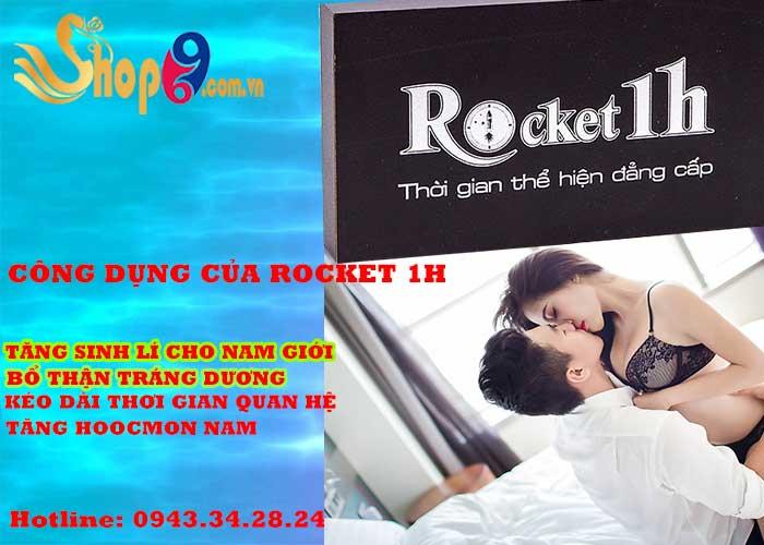 công dụng của rocket 1h