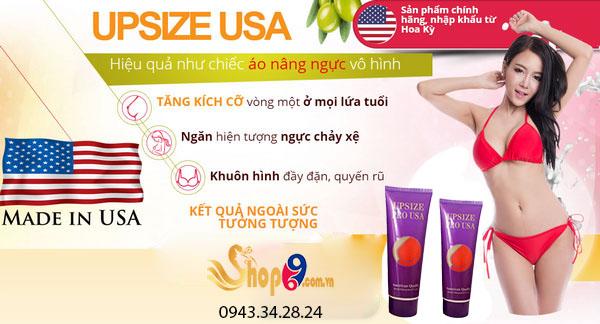 Công dụng kem nở ngực Upsize Pro USA