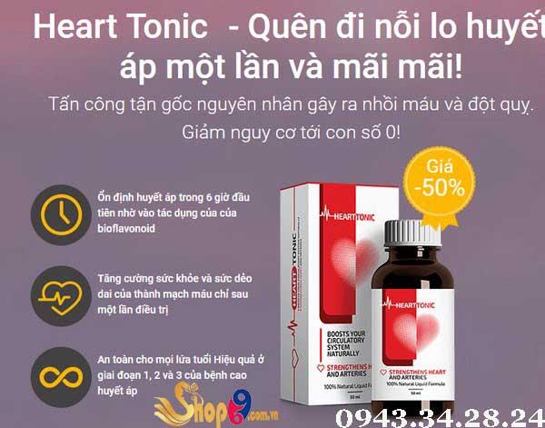 công dụng mà heart tonic mang lại ?