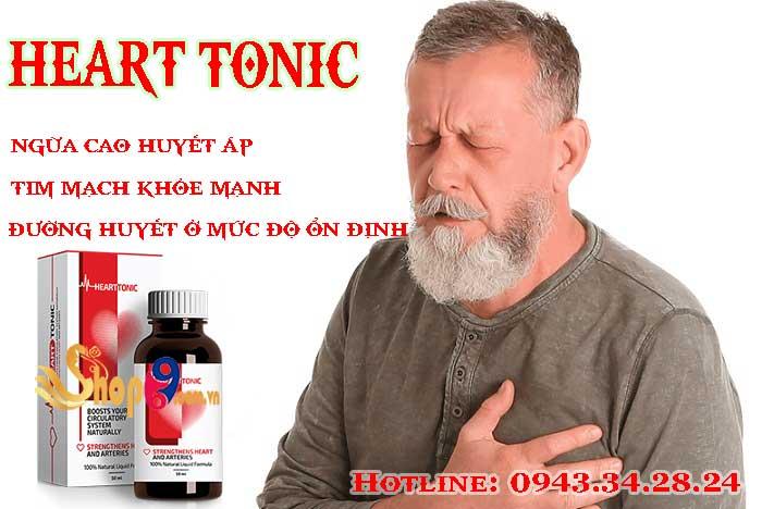 tác dụng của heart tonic
