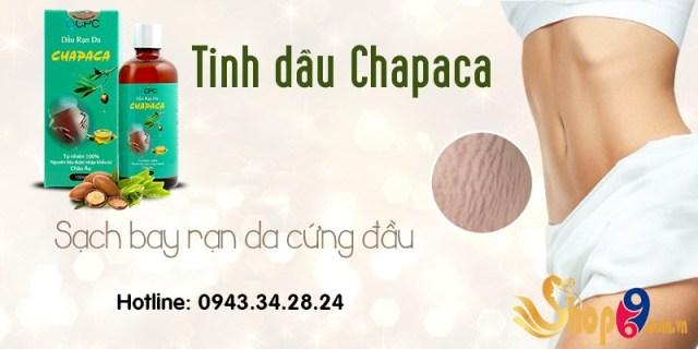 sản phẩm chapaca trị rạn da