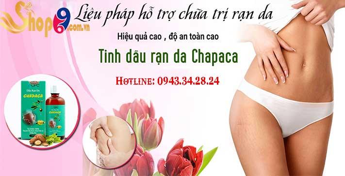 công dụng của chapaca tinh dầu trị rạn da