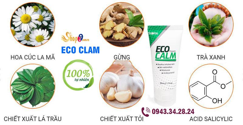 Thành phần Eco Calm