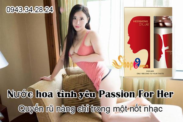 Nước hoa tình yêu Passion For Her