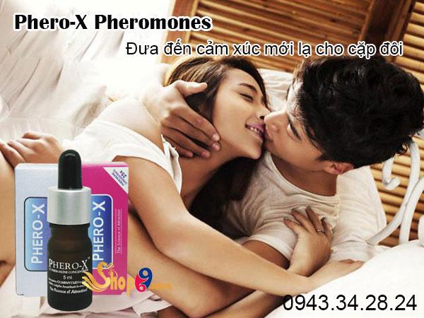Nước hoa tình yêu Phero-X Pheromones