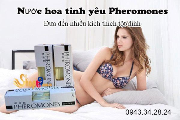 Nước hoa tình yêu Pheromones